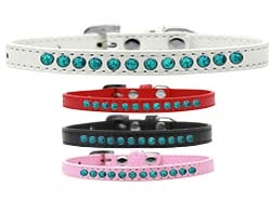 Premium Southwest Turquoise Pearl Collection Dog Collar