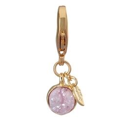 Druzy Charms - Pink