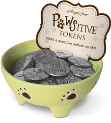 Pawsitive Tokens 72 Piece Assortment