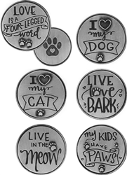 Pawsitive Tokens 72 Piece Refill