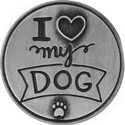 Love My Dog Pawsitive Token