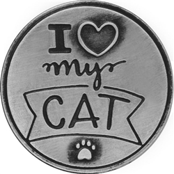 Love My Cat Pawsitive Token