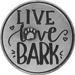 Live Love Bark Pawsitive Token