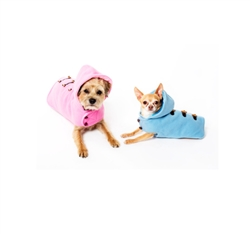 Coat | CS Pink & Blue Hooded Toggle Coats