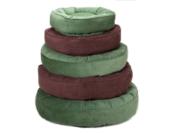 Bed | Corduroy Chocolate Brown or Light Green Nesting Beds