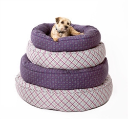 Bed | San Marco Purple or Milano Plaid Designer Nesting Beds