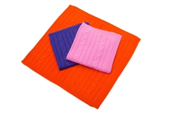 Blanket Cashmere |Canine Styles Cashmere Blanket Orange, Purple, & Pink