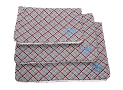 Mats | Canine Styles Milano Plaid Crate Mat