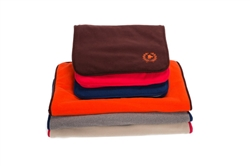 Mats | Polar Fleece Mat - Brown, Tan, & Navy