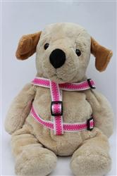 Preppy in Pink Step In Harnesses All Metal Buckles