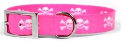 Elements Pink Skulls Collar