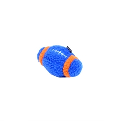 "Rascals® 6"" Fleece Football Dog Toy"