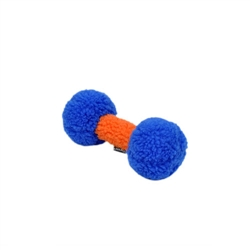 "Rascals® 9"" Fleece Dumbbell Dog Toy"