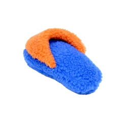"Rascals® 8"" Fleece Slipper Dog Toy"