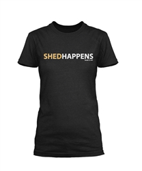 Shedhappens - Heathered Gray SS