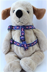 Stars and Paws Collection - Step In Harnesses All Metal Buckles