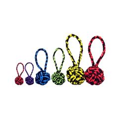 "3.5"" Nuts for Knots™ with Tug (assorted colors) by Multipet"