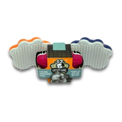 Groom Genie For Cats - Assorted Colors 4 in