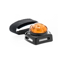 Adventure Lights Small Pet Light, Black Base, Flashing