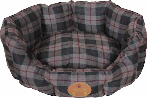 Olive Green Wick-Away Nano-Silver And Anti-Bacterial Water Resistant Round Circular Dog Bed