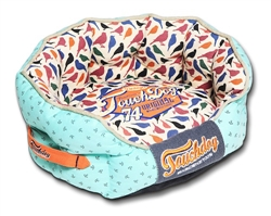 Touchdog Chirpin-Avery Rounded Premium Designer Dog Bed