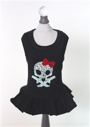 Molly Skull w/ Red Bow Dress