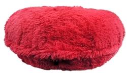 Hot Pink Shag Round Bed
