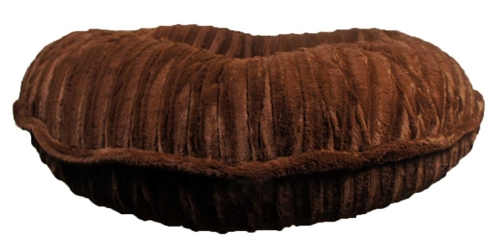 Brown Mink Round Bed