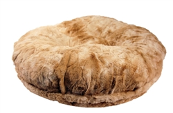 Faux Rabbit Fur Round Bed