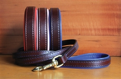 Padded Leather Leashes
