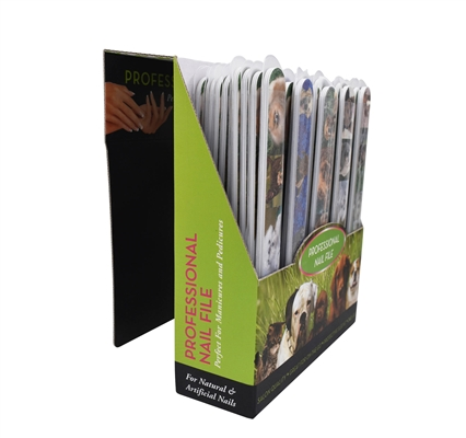 Nail Files by Warren London - 6 Pack or Display of 50