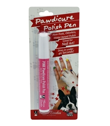 Blister Packs of Pawdicure Polish Pen (Dog Nail Polish!) by Warren London