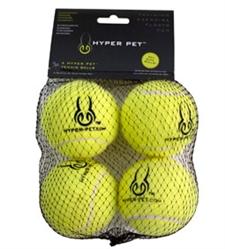 Hyper Dog 4-Pack Green Tennis Balls
