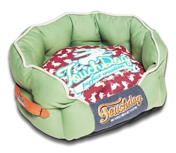 Inner-Lined Higher-Grade Ultra-Plush Poly-Fill Pet Bed