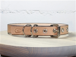Deluxe Natural Leather Collars