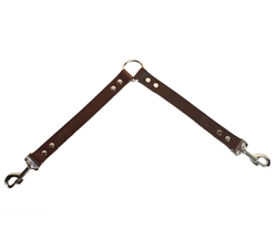 Brown Leather Leash Coupler