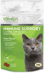 Tomlyn Immune Support L-Lysine Chews 30ct