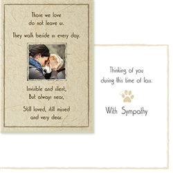 Sympathy - Those we love do not leave us (6 pack)