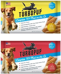 TurboPup - Complete K9 Meal Bar on the Go - 1 pk Peanut Butter (12 units)
