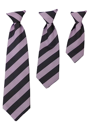 H&K Franklin Long Tie - Purple