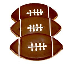 Football Cookie - 20 Ct Case