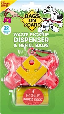 Marble Bone - Pink (30 bags)