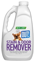 Stain & Odor Remover - Refill Bottle 64 fl. oz./1.85 ml . .