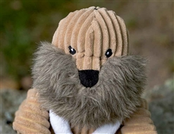 Plush Corduroy Durable Knotties Walrus