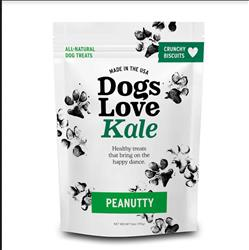 Dogs Love Kale Peanutty - Wheat Free 6 oz. Resealable bag