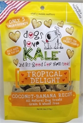Tropical Delight - Wheat & Grain Free 6 oz. Resealable bag