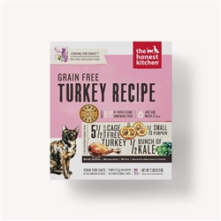 The Honest Kitchen Dehydrated Turkey Formula Cat Food (Grace)