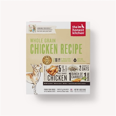 The Honest Kitchen Whole Grain Chicken Dehydrated Dog Food (Revel)