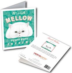 Cat - Marsh MELLOW GREETING CARDS 6 cards