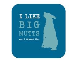 I Like Big Mutts and I Cannot Lie Coaster
